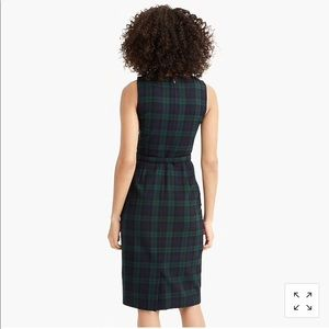 bd80bc95fa1 J. Crew Dresses - 🆕 J. Crew Sheath Dress Black Watch Tartan NWT